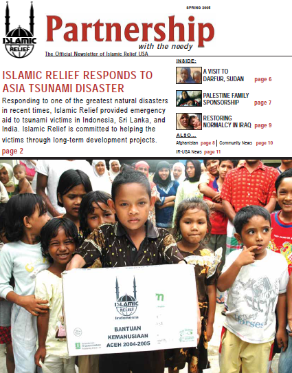 Islamic Relief Responds to Asia Tsunami Disaster