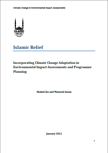 incorporating climate change