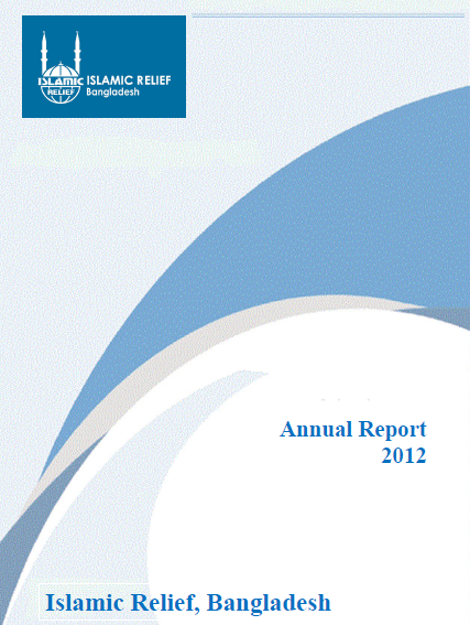 Islamic Relief Bangladesh Annual Report 2012