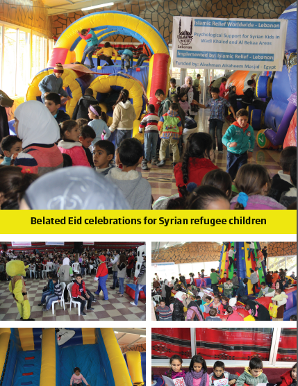 Belated Eid Celebrations for Syrian Refugee Children