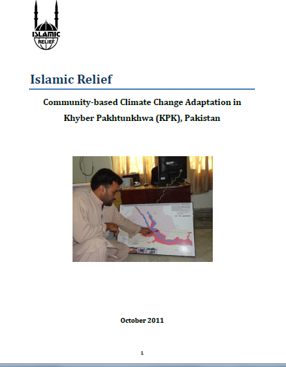 Community-based Climate Change Adaptation Kyber-Pakhtunkwa (KPK) Pakistan