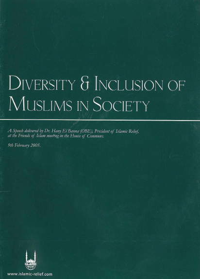 Diversity & Invlusion of Muslims in Society