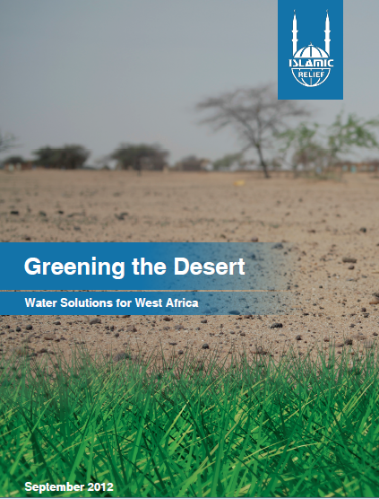 Greening the Desert Water Solutions for West Africa