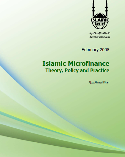 Islamic-Microfinance Theory Policy and Practice