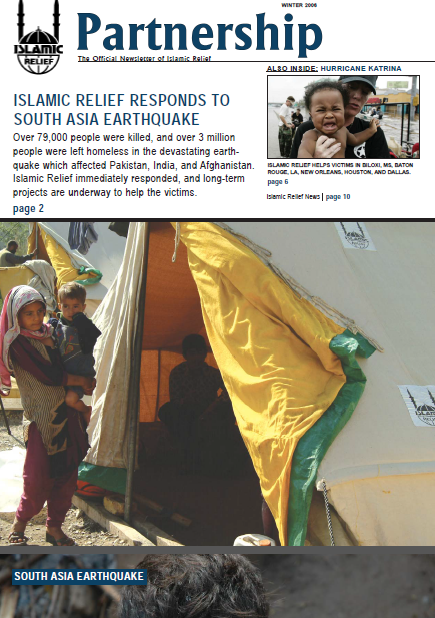 Islamic RElief Responds to SOuth Asia Earthquake