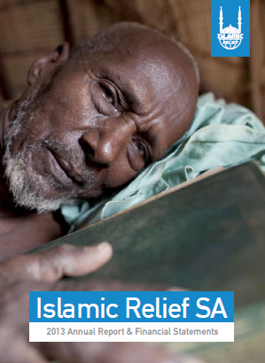Islamic Relief Annual SA Annual Report & Financial Statements 2013