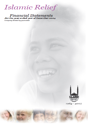Islamic Relief Financial Statements 2004