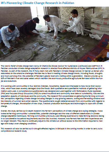 Islamic Relief-Pioneering-Climate-Change-Research-in-Pakistan