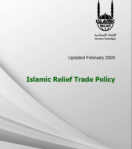 Islamic Relief Trade Policy