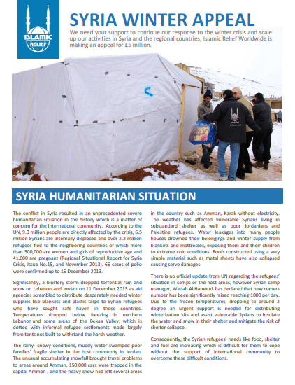 Islamic-Relief-Winter-Appeal-and-Update-December-2013
