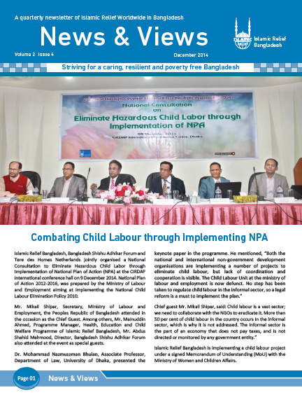 Newsletter_Islamic_Relief_Bangladesh_October_December_2014