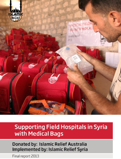 Supporting Field Hospitals in Syria with Medical Bags