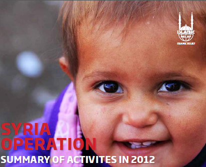 Syria Operation Summary of acitivties 2012