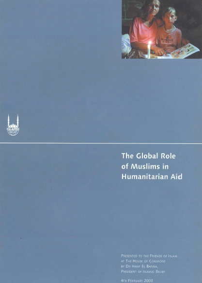 The Global Role of Muslims in  Humanitarian Aid