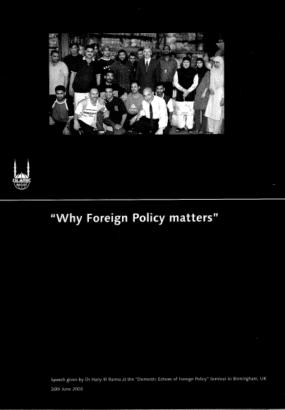 Why Foreign Policy Matters