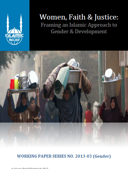 Women Faith & Justice Framing an Islamic Approach to Gender & Development