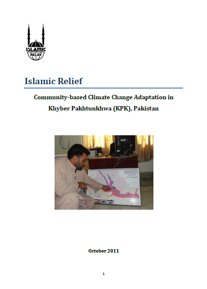 Community-based Climate Change Adaptation in Khyber Pakhtunkhwa, Pakistan