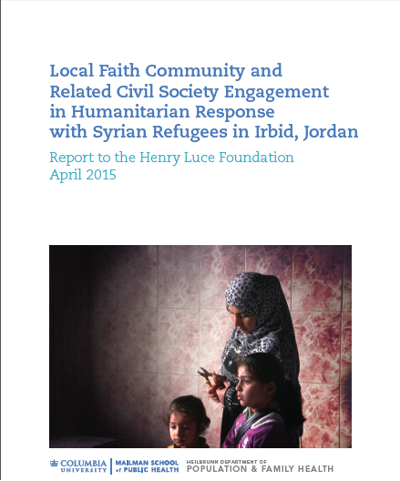 Local faith communities and humanitarian response in Irbid