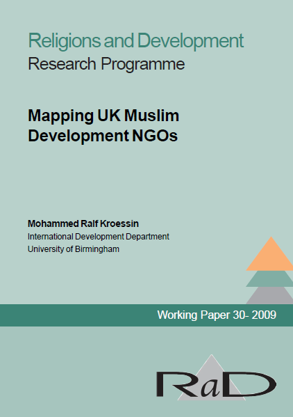 Mapping UK Muslim Development NGOS
