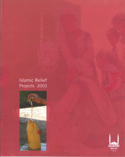Islamic Relief Projects 2003