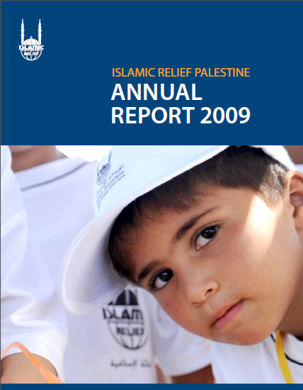 Islamic Relief annual Report 2009 Palestine