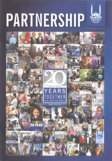 Partnership 20 years together 2013