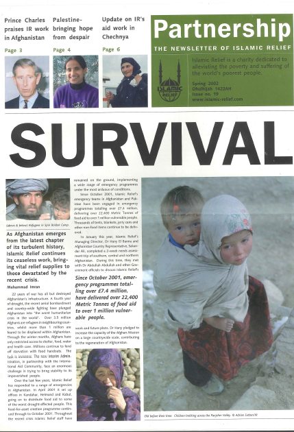 Partnership Spring 2002 IRW Issue 19