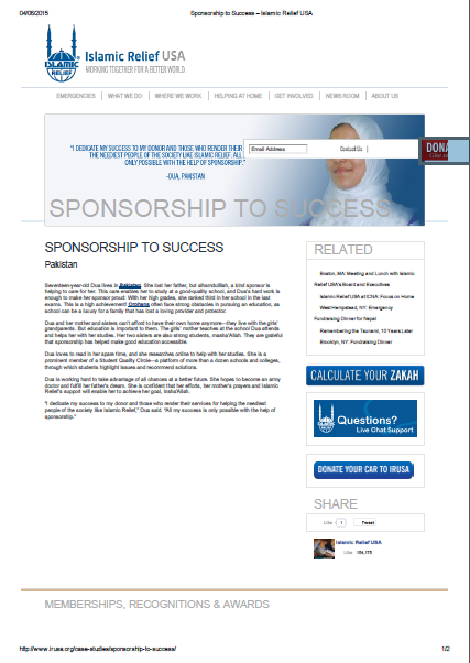 Sponsorship to Success