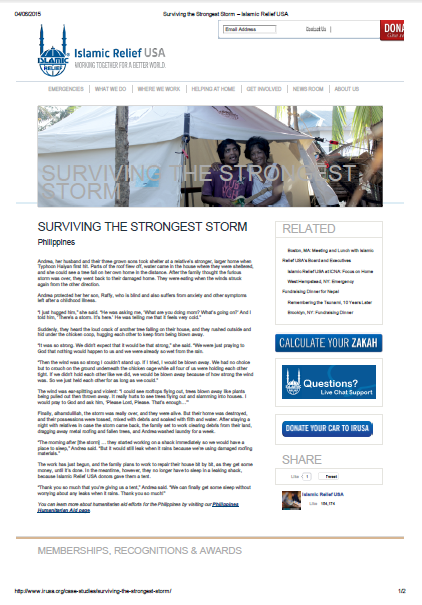 Surviving the strongest storm