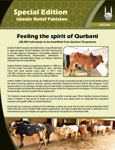 Feeling the spirit of qurbani