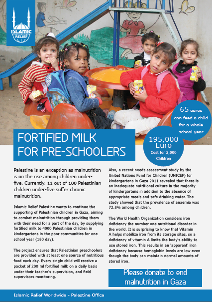 Fortified Milk for pre schoolers