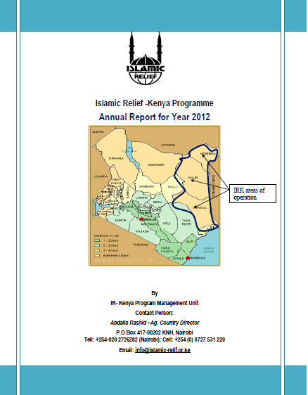 IR Kenya Annual Report 2012