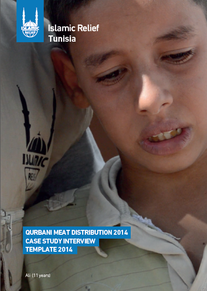 Qurbani meat distribution case study 2014