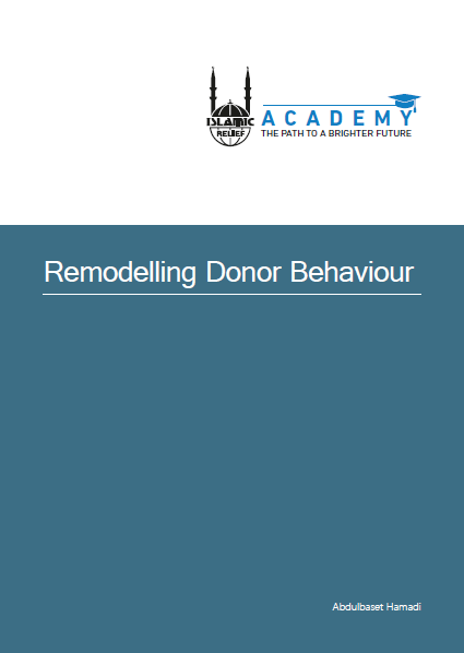 Remodelling donor behaviour
