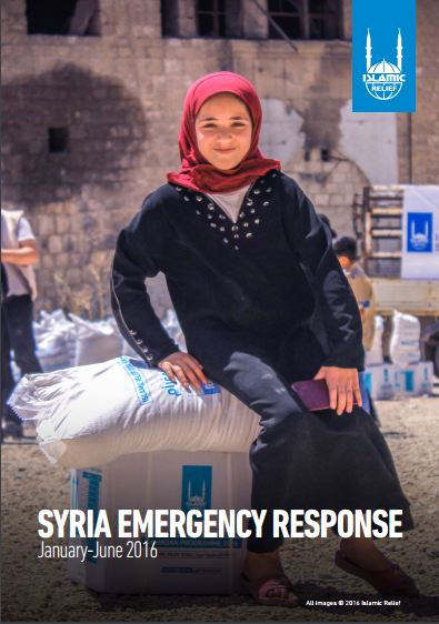 Syria Emergency Response Jan -June 2016