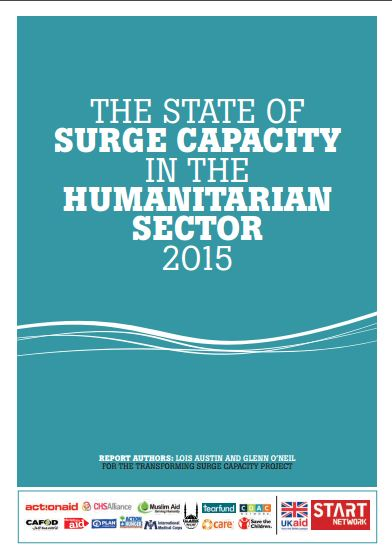 The State of Surge Capacity in the Humanitarian Sector